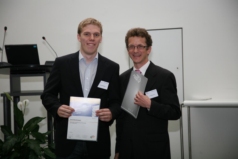 Arne Boockmeyer Preisträger beim 31. Bundeswettbewerb Informatik